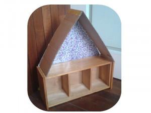 Ecurie en bois et carton dans Home made pour elles étape-1-300x225