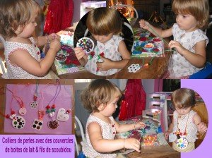 Collier de perles  dans Les jum bricolent montage-perles-300x224