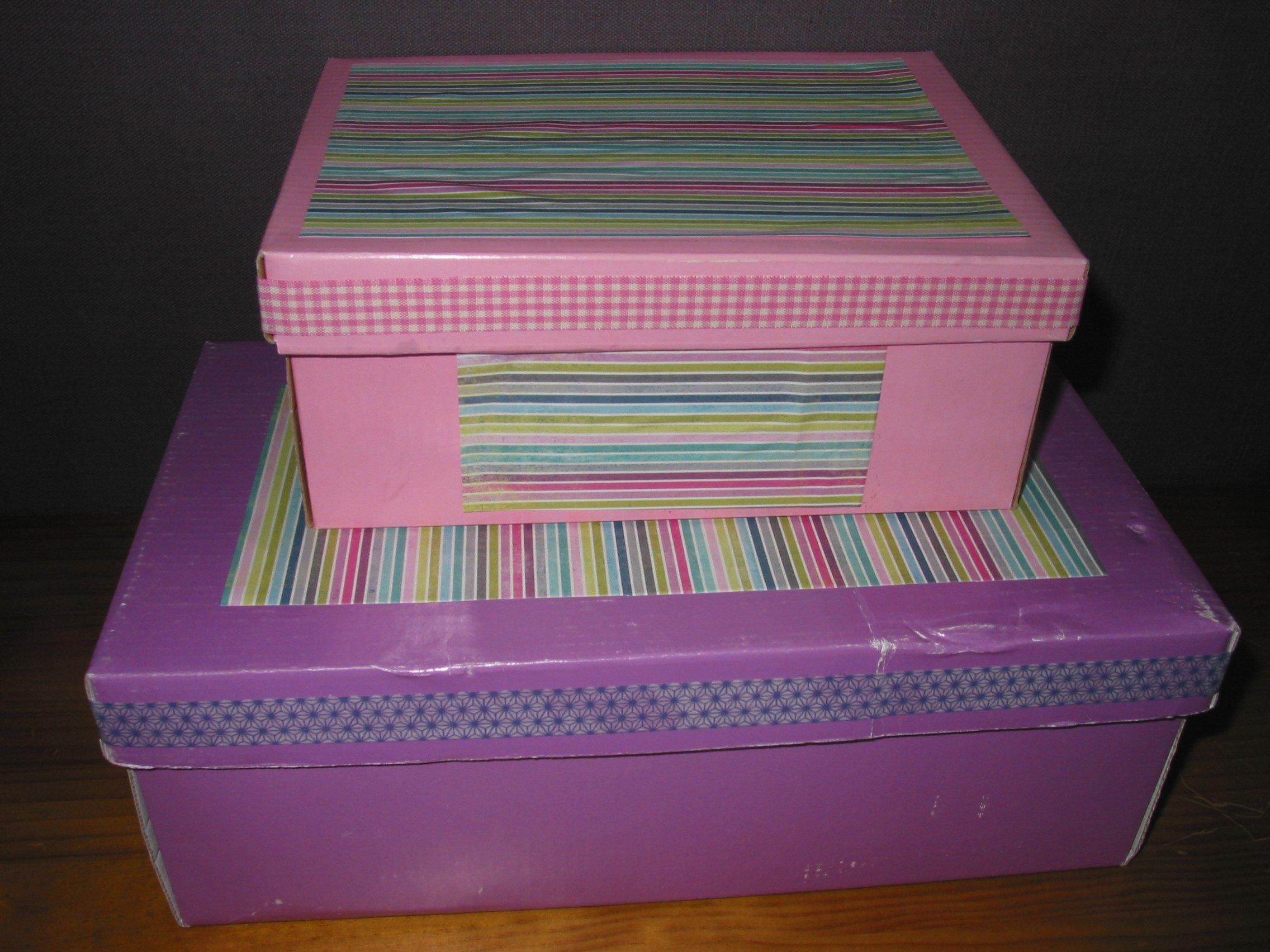 customisation boites de rangement croquelavieenrose. Black Bedroom Furniture Sets. Home Design Ideas