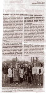 Article de journal... dans On the road formation-Ergué-2012-149x300