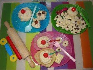 Gâteau aux oeufs en chocolat dans A table !!!! valisetteaimants-003-300x225