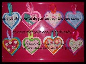Coeurs parfumés en feutrine dans DIY Couture pour débutante feutrine-coeur-300x225