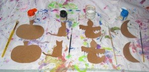 peinture d'Halloween dans Les jum bricolent 15octobre12peinture-016-300x146