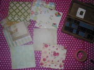 Bloc-Notes  Format mini boite d'allumettes dans Home Made pour moi 21octobre12-036-300x225