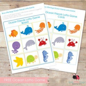 ♥Mémory des animaux♥ Home Made♥ dans Home made pour elles free-ocean-friends-lotto-game3-2-300x300