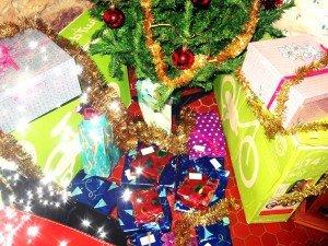 Christmas day dans La vie en rose sapin-300x225