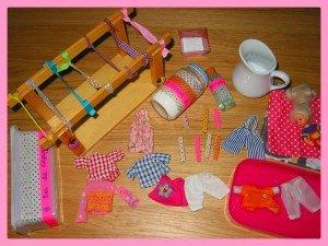 Petite lessive pour les habits de Caroline dans Déco pour les filles montage15-300x225