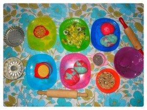 Pâte à sel party...de printemps dans Les jum bricolent montagepata-300x225