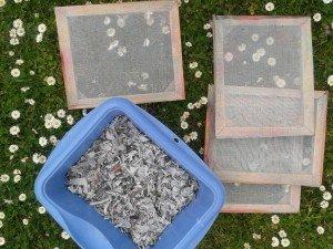 Papier Artisanal ou papier recyclé