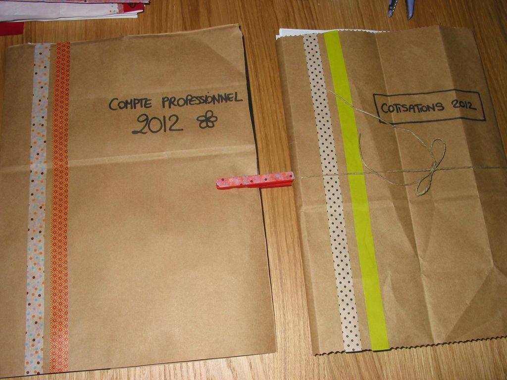 Ou Trouver Des Sacs Kraft : D?tournement de sacs en papier kraft ou imprim?