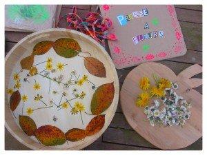 Avec des feuilles et des fleurs séchées dans Azia s'éveille à la vie montagefleurs-300x225