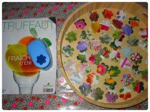 Nos dernières créations avec des fleurs séchées dans Home Made pour moi montagefleurs-papier-300x225
