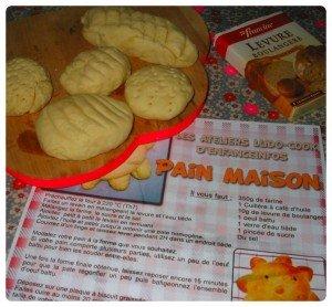 Des petits pains pour mes gourmandes dans A table !!!! montage7-300x278