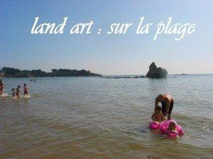 Land art sur la plage dans Aimer et découvrir la nature mont61-300x225