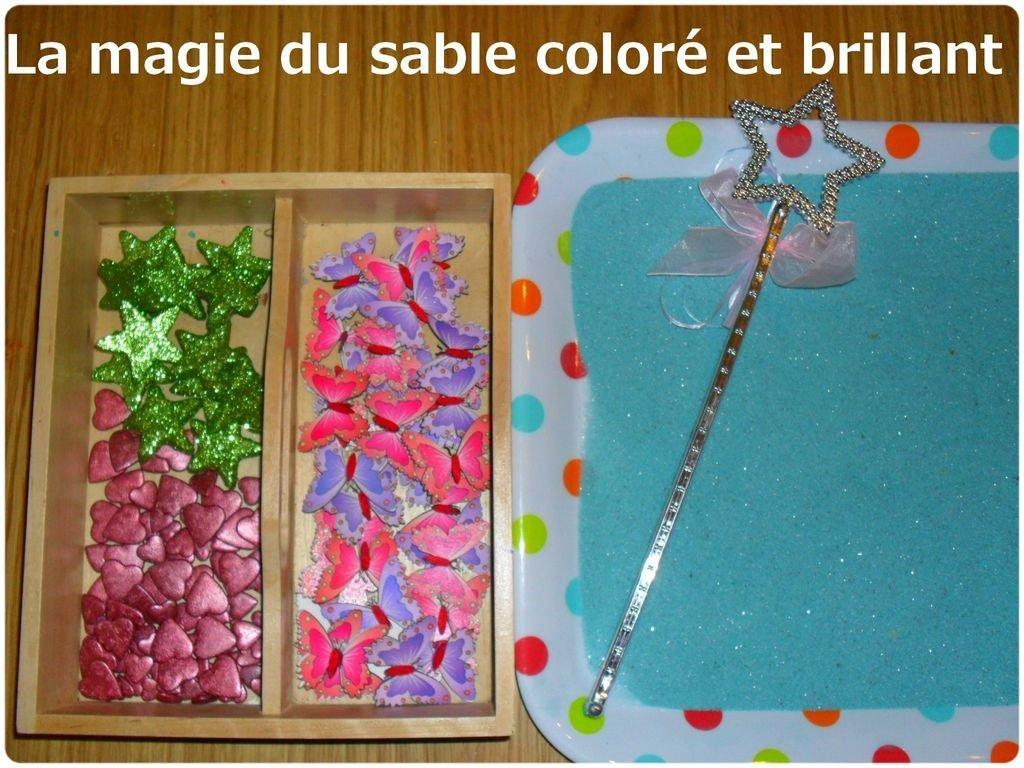 dessiner dans le sable color paillet dans apprendre en samusant sable3 300x225 - Dessin Sable Color